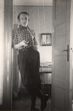 Carl Scharnberg som ung