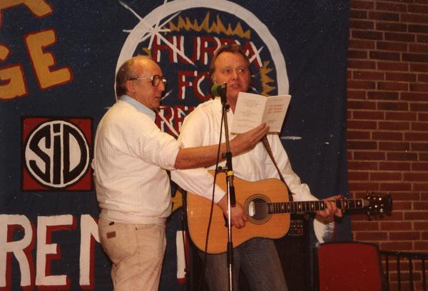 Carl Scharnberg og Peter
